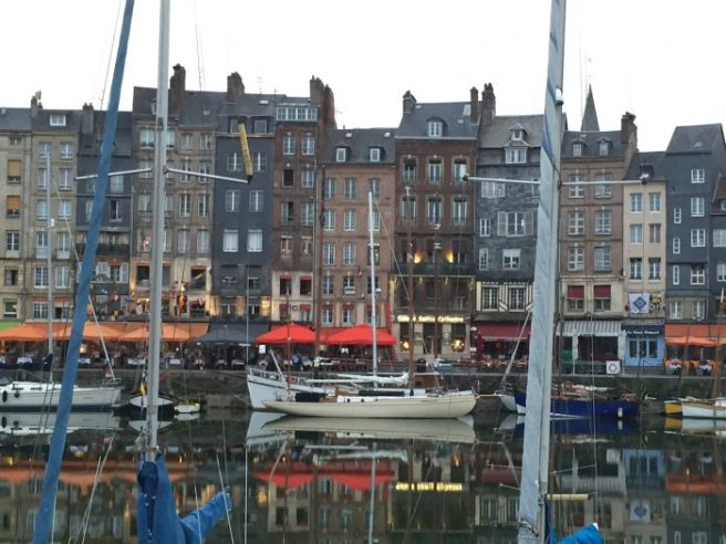Honfleur. Quaint, old town charm.
